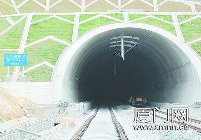长3644米的天马山隧道