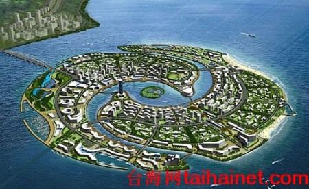 人工岛的这种模式对周边海域影响最小