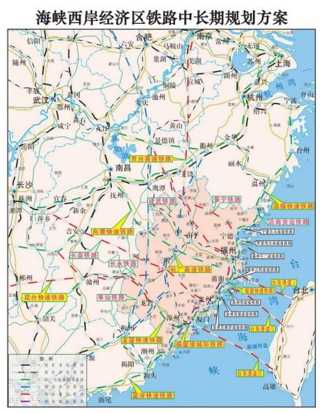 福建大兴铁路建设 海西区高铁时代渐行渐近