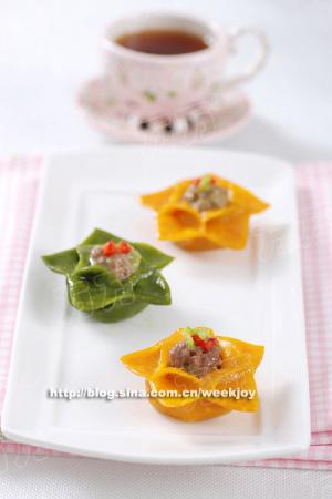 花式蒸饺:饺子像花儿一样盛开