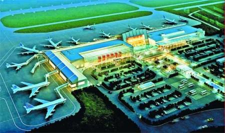 泉州晋江机场新航站楼开工
