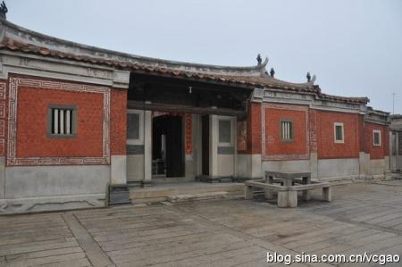 泉州古民居带着浓厚的闽南建筑特色