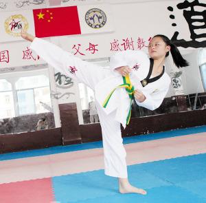 厦门跆拳道队出征国际大赛