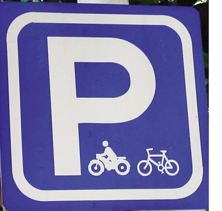 两车停放点(可停放摩托车、非机动车)