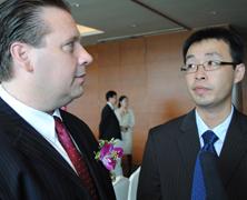 香山国际接受新浪专访