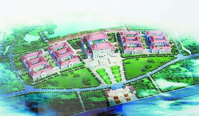 厦门大学翔安校区主楼建筑群设计