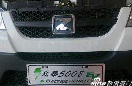 能跑满200公里 厦门实拍众泰5008EV纯电动车高清图片