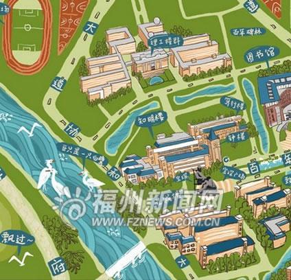 大学设计平面手绘