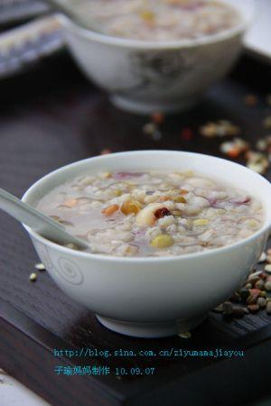 五谷杂粮做早餐 简单美味又健康
