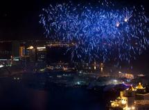 金桥之夜大型焰火文艺晚
