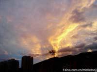 JuLy26:台风来临前莆田美丽晚霞