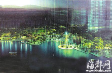 榕琴亭湖年底建成开放 既是景观湖又是水利湖(图)
