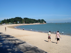 天然的海湾 浪漫至顶白城沙滩