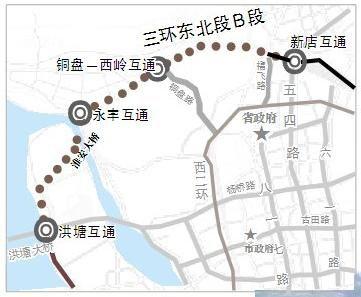 福州淮安半岛地图