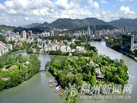 福州今年绿化建设规模最大 琴亭湖工程元旦前完工(图)