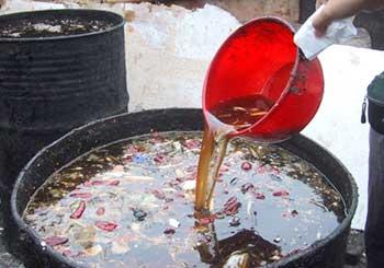 回收地沟油