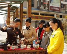排练茶艺迎接茶博会