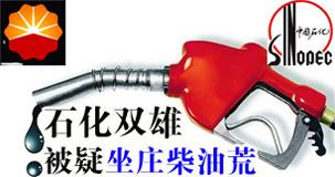 """两大石油公司导演""""柴油荒"""""""