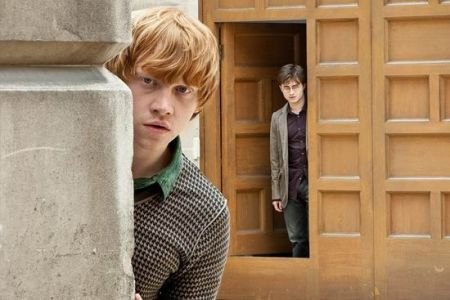 罗恩与哈利的友情这集中受到考验