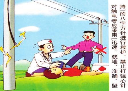 触电急救方法