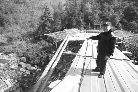 宁德屏南宋代百祥桥重建 桥底今日合龙