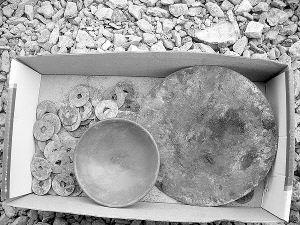 古钱币等墓葬品
