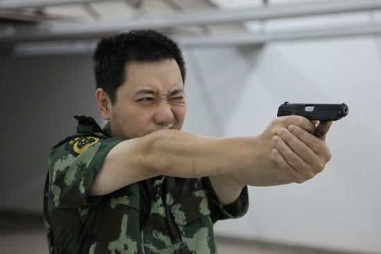 潘浩在射击