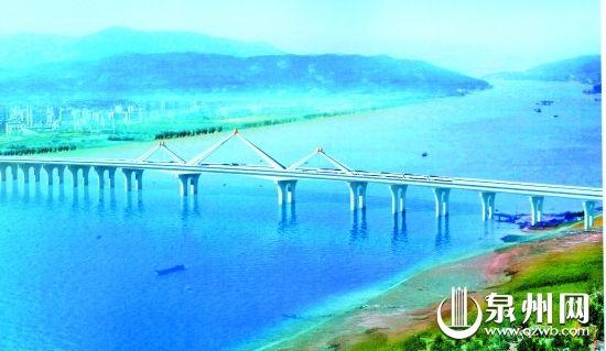 ▲预应力混凝土连续梁组合三角拱桥:福泽金屿  方案采用三联三角拱