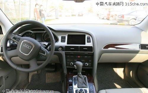 2011款奥迪A6 内饰-出身名门 2011年已经上市8款热点新车盘点 3高清图片