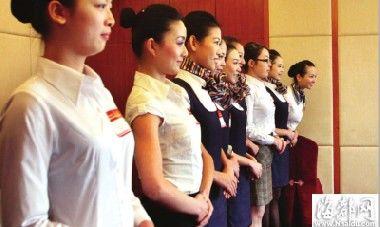 福州华林路最佳西方财富酒店内 90后争当空姐(组图)