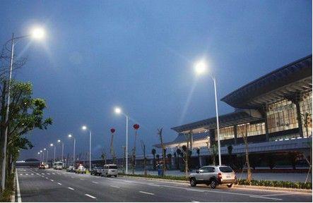 厦门火车北站LED路灯工程