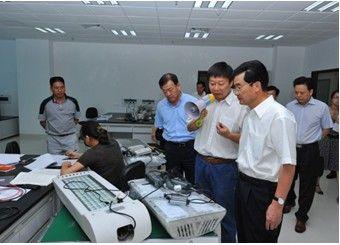 2010年9月9日,李川副省长调研厦门市LED检测中心
