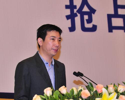 蔡文胜在微博营销大会上演讲