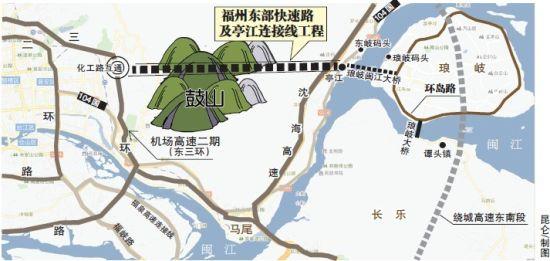 福州市鼓山风景区拟挖特长隧道直通琅岐岛(图)