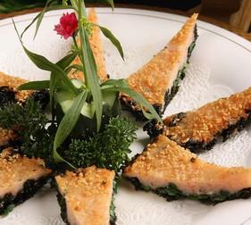 香酥紫菜饼