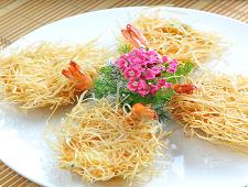 金丝酥大虾