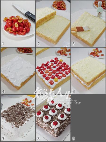 充满樱桃的香气:黑森林蛋糕diy