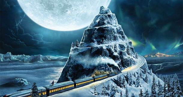 """IMAX观后感:感觉要被《北极特快》的火车""""撞""""了"""