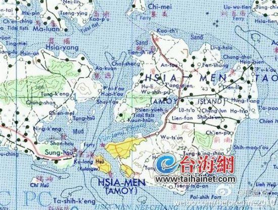 厦门到宁化县地图