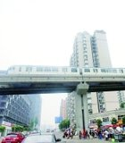 重庆北站 出了轻轨就坐火车