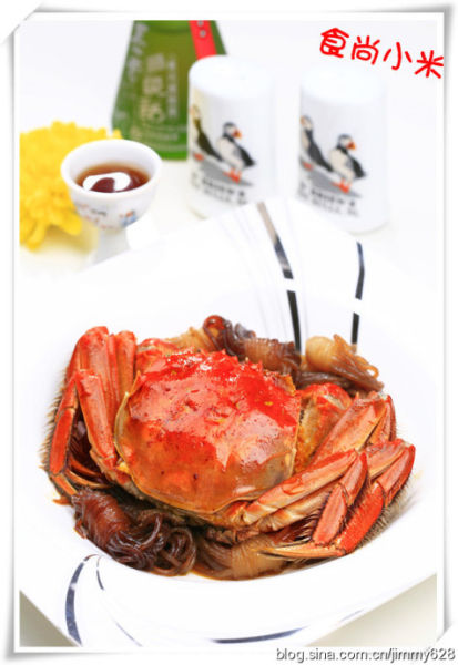 螃蟹食用部位图解