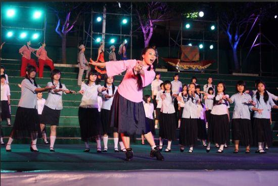 祖国在我心中 西山学校建国62周年大型文艺晚会