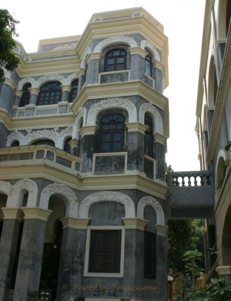 林氏府公馆特有的八角楼