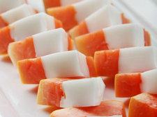 椰浆木瓜冻