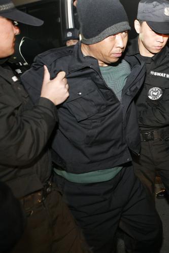 警方逮捕吴宏业。资料图