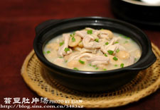 芸豆肚片汤