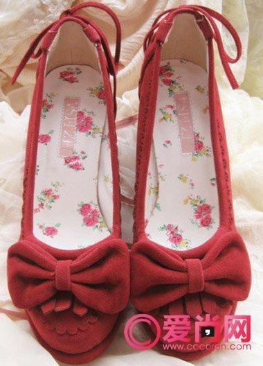 单直结鞋带步骤图解