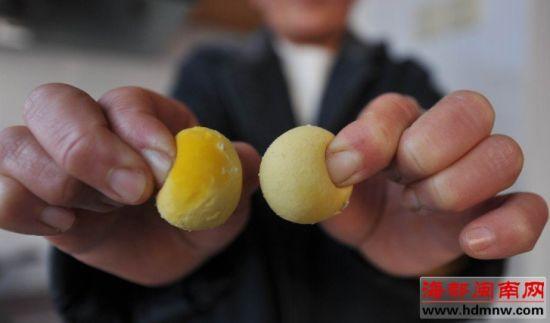 蛋黄捏不碎