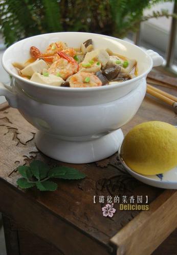 三鲜豆腐 唤醒春天味蕾
