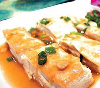 闽西八大干之长汀豆腐干